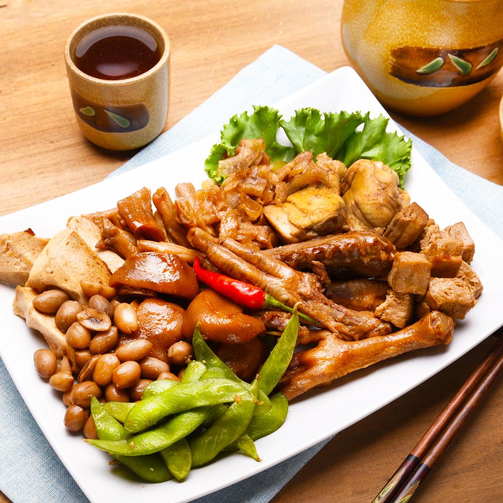 即食滷味_綜合十拼 主廚蜂蜜滷味盤<br>600公克/盤